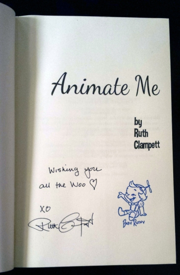 Animate Me autograph