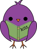 kitt chick with book