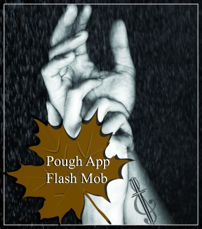 Pough App Flash Mob AV